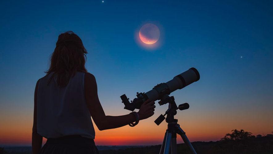 Noche de observación de estrellas en Zona 10 | Diciembre 2019
