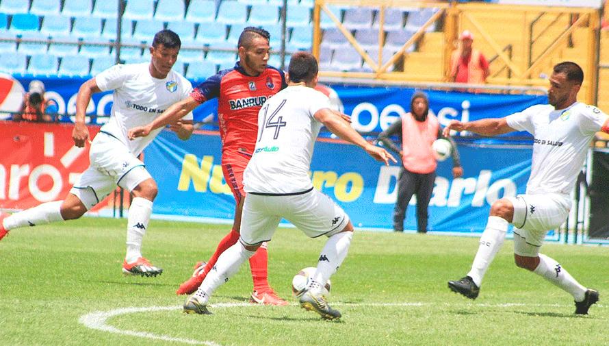 Partido de vuelta Municipal y Comunicaciones, semifinales del Torneo Apertura   Diciembre 2019