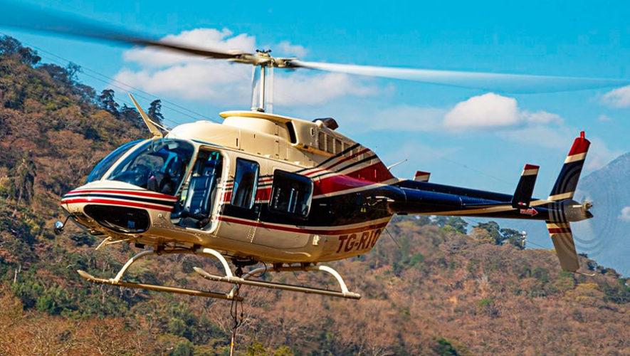 Paseo en helicóptero por la Ciudad de Guatemala para fin de año | Diciembre 2019
