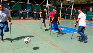 Primer entreno para jugadores de fútbol amputados | Diciembre 2019
