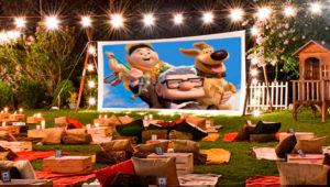 Proyección al aire libre de la película Up: Una aventura de altura   Diciembre 2019