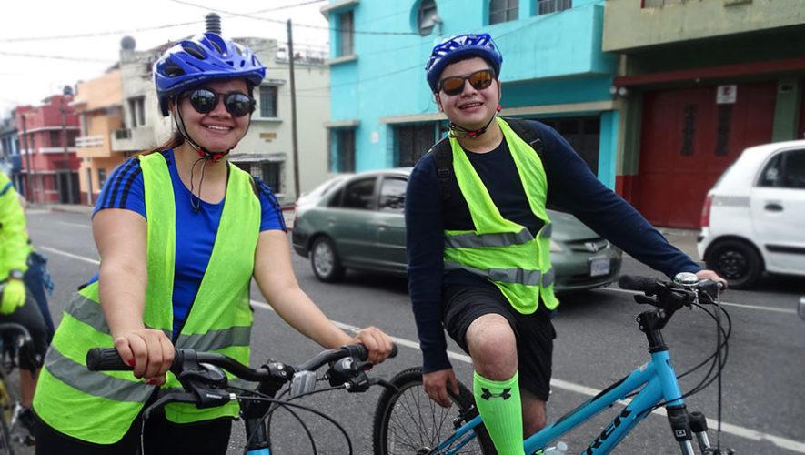 Recorrido en bicicleta para principiantes por la Ciudad de Guatemala | Enero 2020