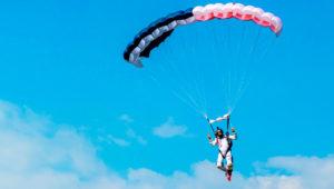 Salto en paracaídas en Escuintla   Diciembre 2019