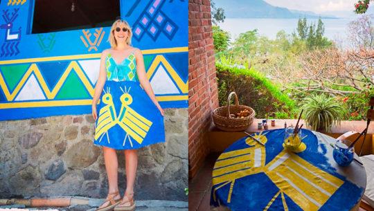 Santa Catarina Palopó, Sololá, inspiró las prendas de la reconocida artista Ariel Adkins