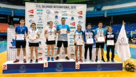 Selección mayor arrasó con las medallas en el II El Salvador International 2019