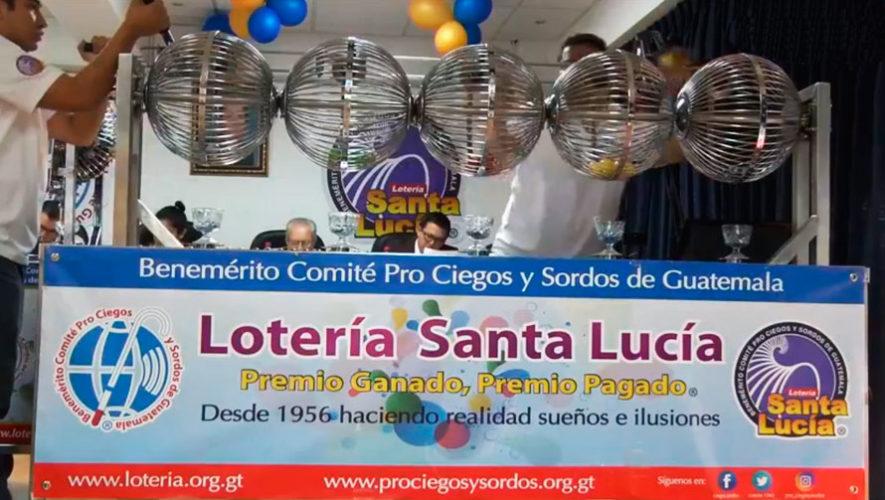 Ganador del sorteo extraordinario 348 de Lotería Santa Lucía | Enero 2020