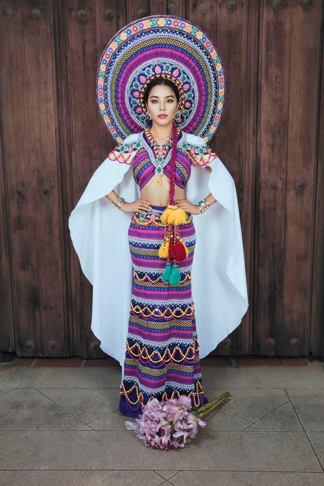 Stephanie Sical es una de las ganadoras del mejor traje nacional