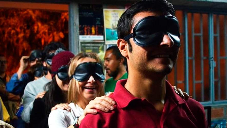 Teatro a Ciegas, experiencia teatral en Panajachel | Enero 2020