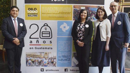 Totto celebra 20 años en Guatemala portada