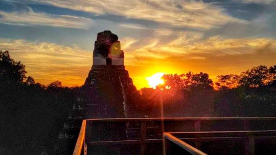 Tour para ver el amanecer en Tikal desde Flores, Petén | Diciembre 2019 - Enero 2020