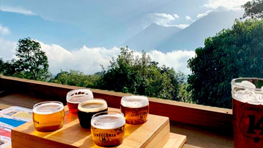 Tour por Cervecería Catorce en San Miguel Dueñas, Sacatepéquez | Diciembre 2019 - Enero 2020