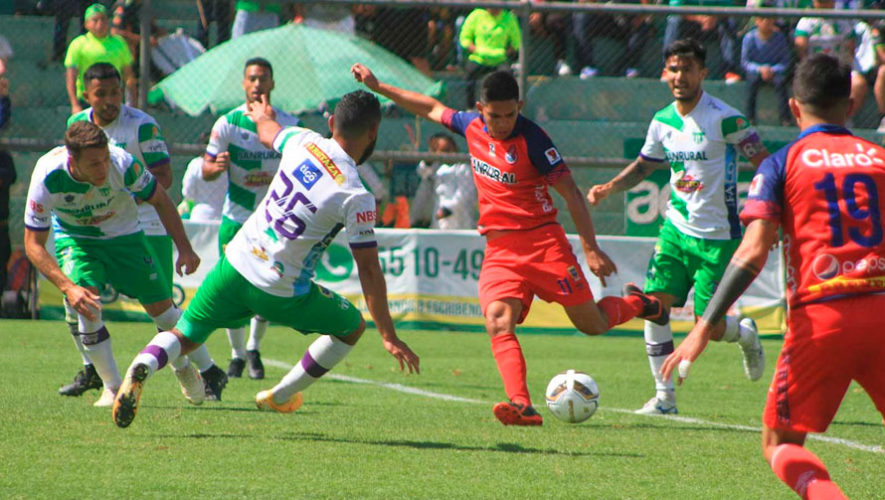 Transmisión en vivo de la final Municipal vs. Antigua, Torneo Apertura 2019