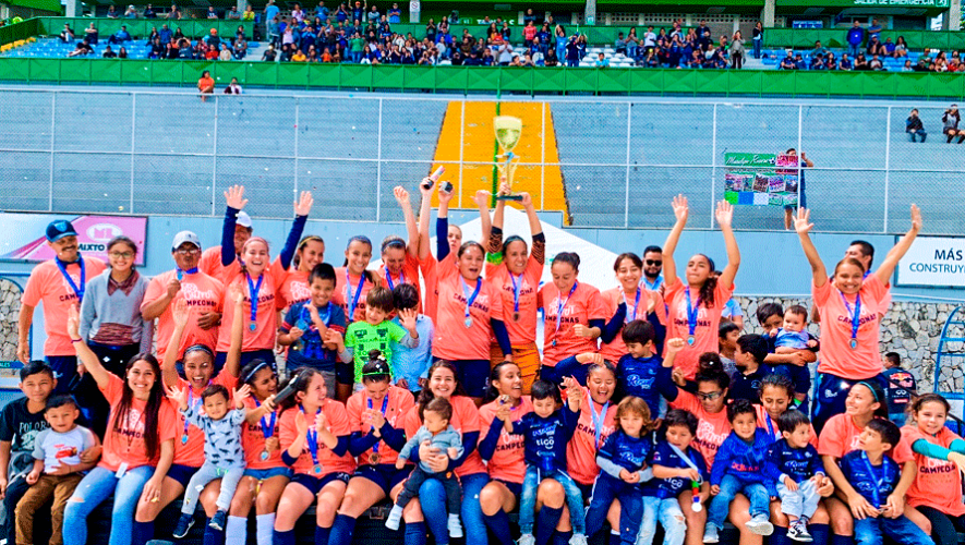 Apertura 2019: Unifut-Rosal se convirtió pentacampeón de la Liga Nacional Femenina