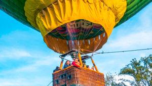 Viaje a Laguna El Pino y elevación en globo aerostático | Diciembre 2019