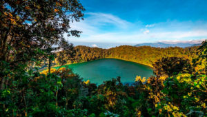 Viaje al volcán y la Laguna Chicabal en Quetzaltenango | Enero 2020