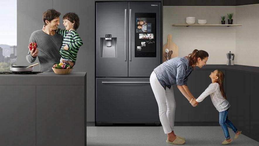 Ya se encuentra en Guatemala el nuevo refrigerador Family Hub de Samsug