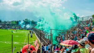 Partido de ida Antigua vs. Municipal, final del Torneo Apertura   Diciembre 2019