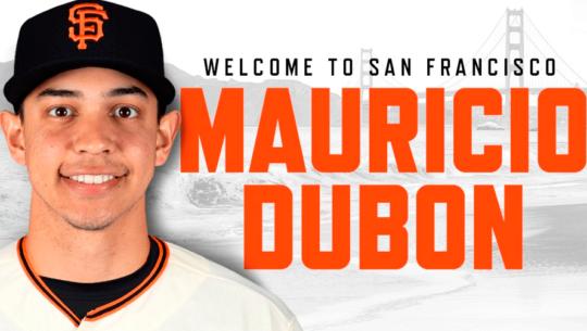 Liga BIG: Anuncian la visita de Mauricio Dubón, jugador de Los Gigantes de San Francisco