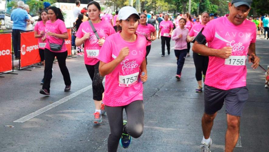 20 Carrera caminata Avon en la Ciudad de Guatemala | Marzo 2020
