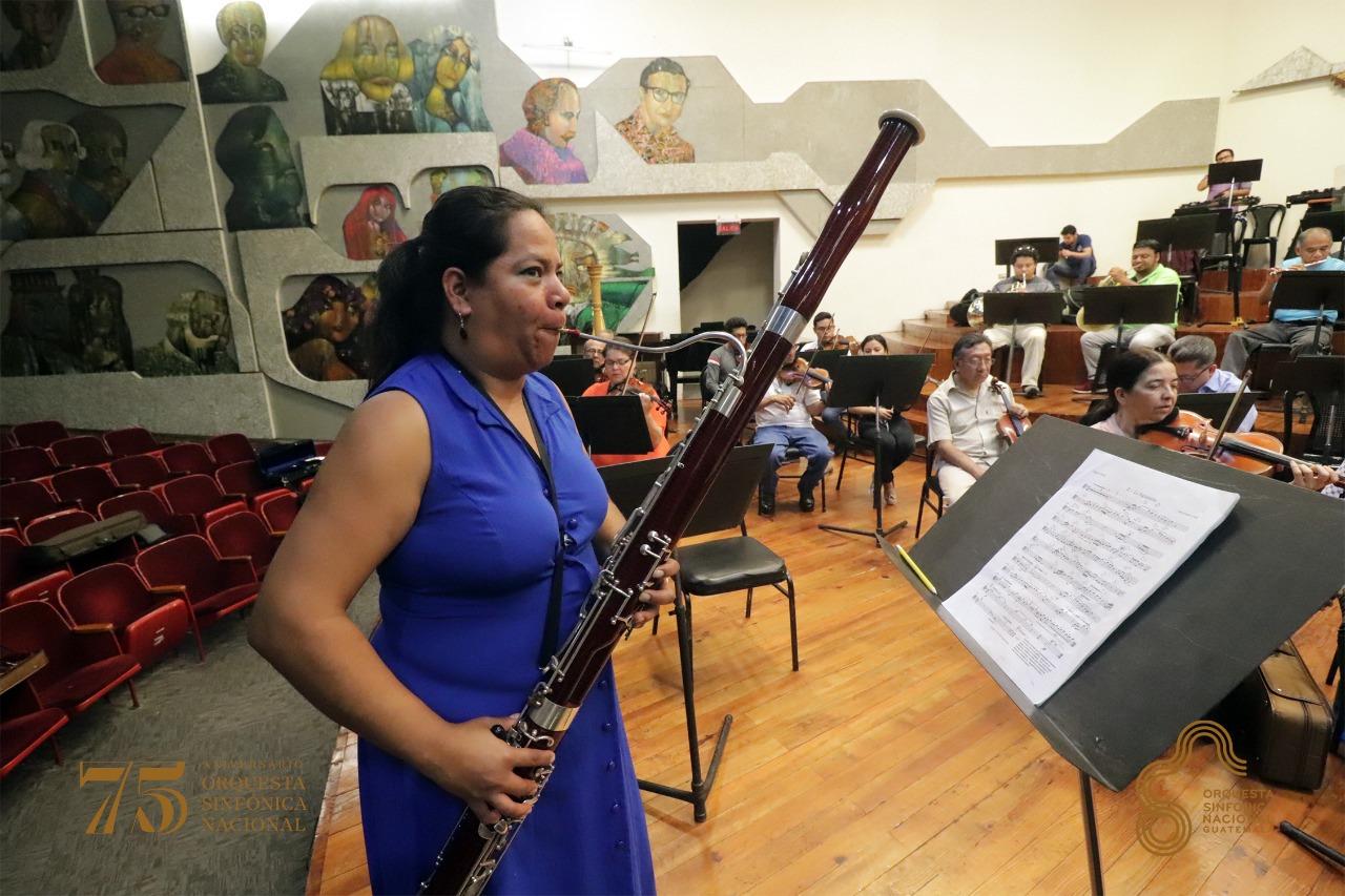 (Foto: Orquesta Sinfónica Nacional de Guatemala -OSN-)