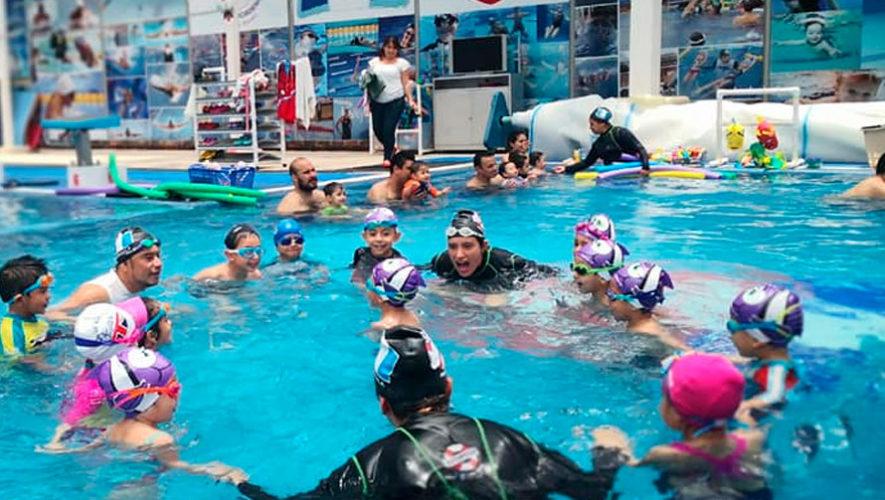Academias con clases de natación en la Ciudad de Guatemala