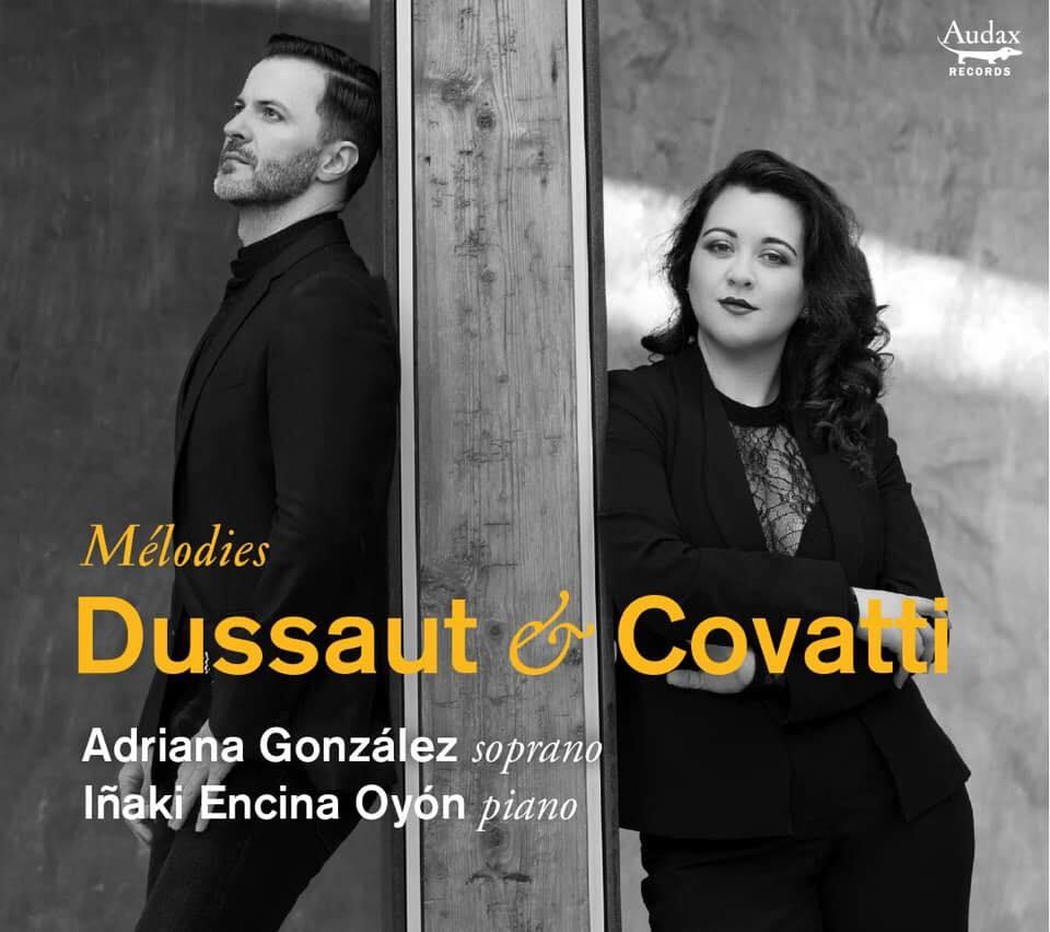 Adriana González grabó su primer álbum junto al director español Iñaki Encina Oyón