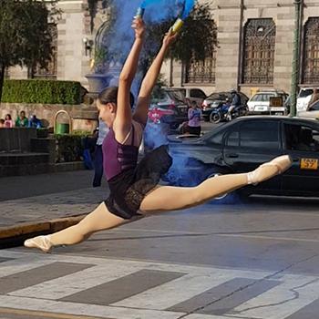 Balletista guatemalteca fue aceptada en el Summer Intensive 2020 de Moscú 2