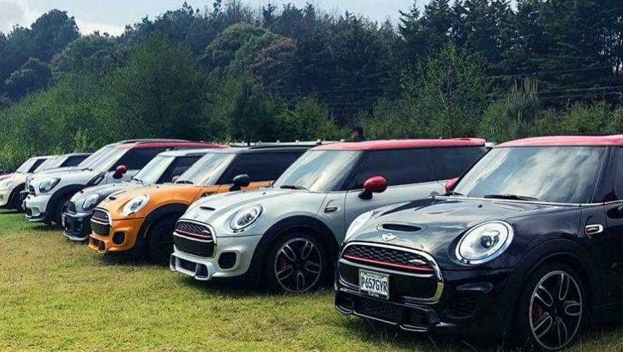 Caravana de Mini Coopers de la Ciudad de Guatemala a Tecpán | Enero 2020