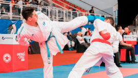 Christian Wever obtuvo el quinto lugar del Series A Santiago 2020