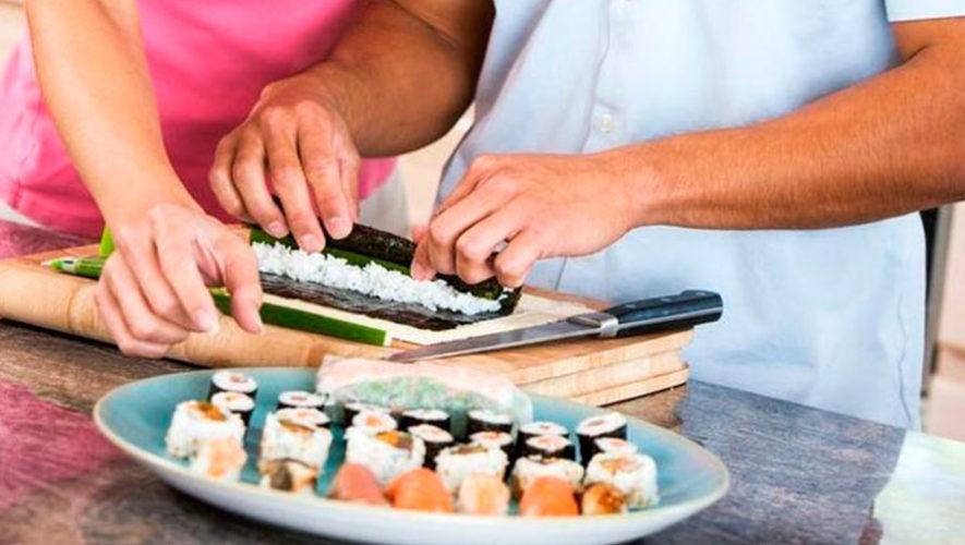 Clase de sushi en parejas para celebrar el Día del Cariño | Febrero 2020