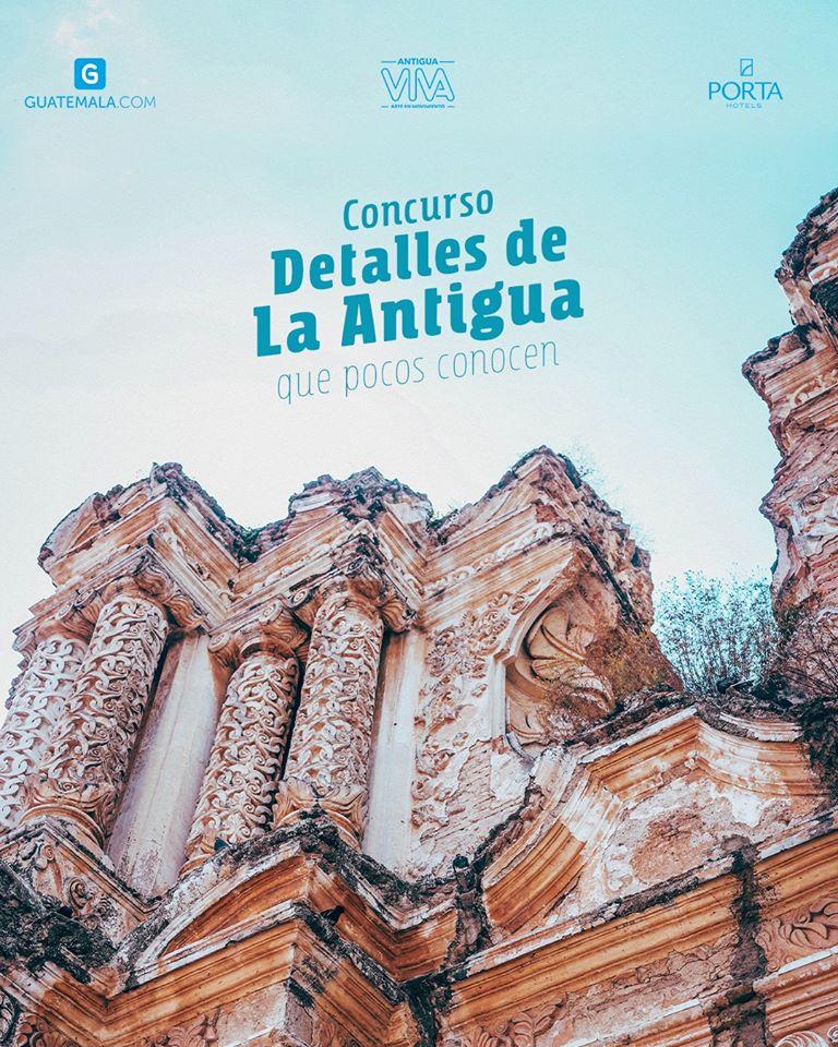 Convocatoria para el concurso de fotografía Detalles de La Antigua que pocos conocen 2020