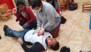 Curso de primeros auxilios de Cruz Roja Guatemalteca | Enero 2020