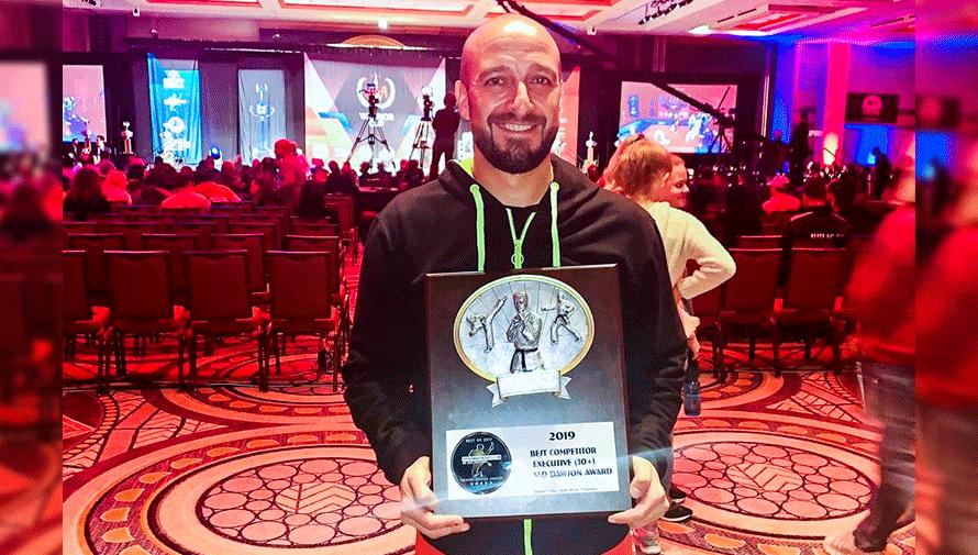 Edgar CórdovaEdgar Córdova fue elegido como el mejor atleta senior del 2019 por Sports Martial Arts