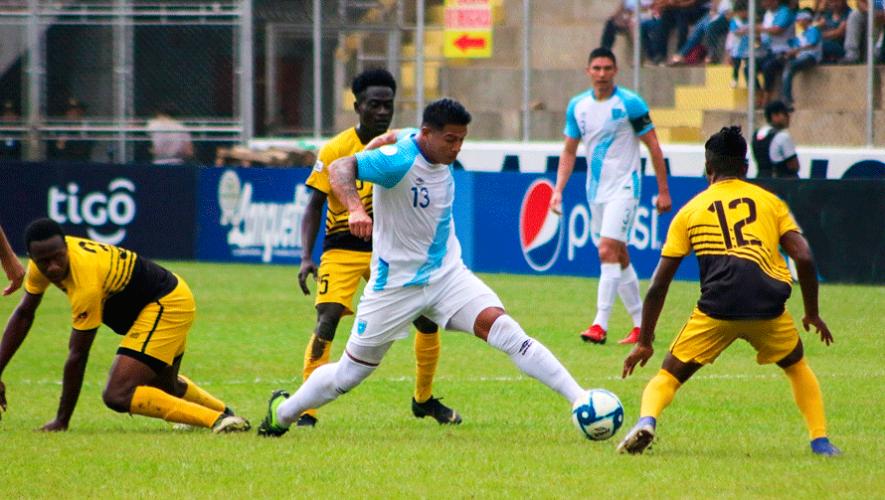 Fecha y hora del partido Guatemala vs. Montserrat, repechaje para la Copa Oro 2021