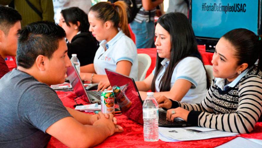 Feria de empleo en la Universidad de San Carlos | Enero 2020