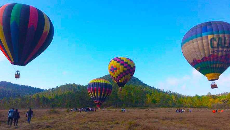 Festival de globos aerostáticos en Santa Rosa | Abril 2020