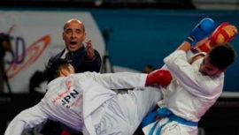 Guido Abdalla será árbitro de karate en los Juegos Olímpicos de Tokio 2020