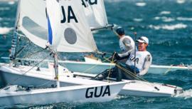 Juan Maegli terminó entre los 6 mejores del Sail Melbourne International 2020