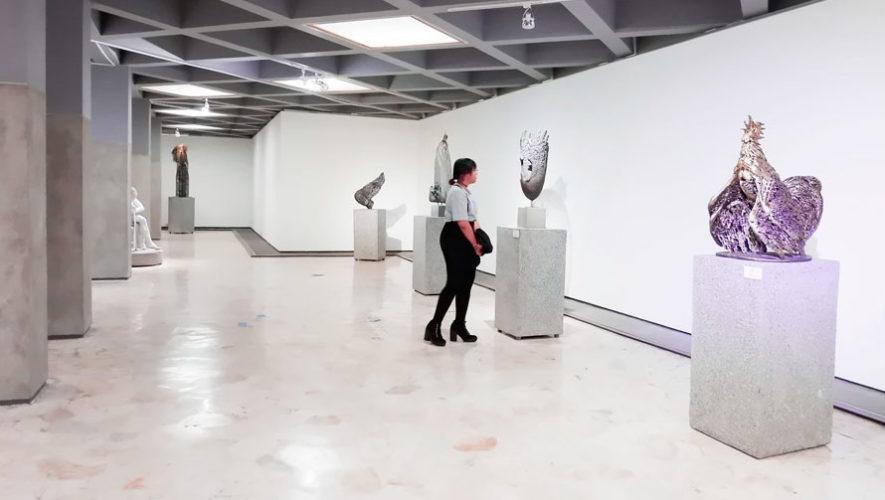 Los Jardineros, exposición de arte en galería de Zona 1   Enero 2020