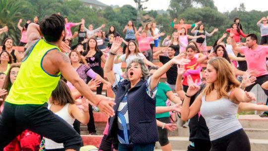 Lugares donde imparten clases de zumba gratis en la Ciudad de Guatemala