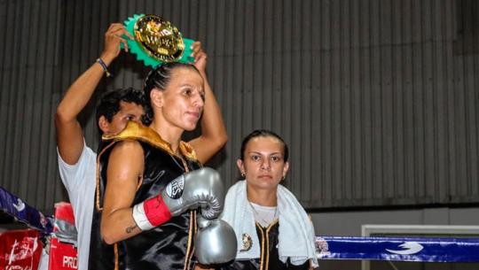 María Micheo fue nominada a Boxeadora Revelación del 2019 por la WBC