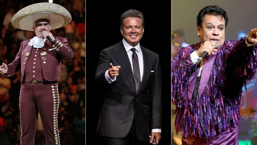 Show de homenaje a Vicente Fernández, Luis Miguel y Juan Gabriel | Enero 2020