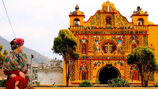 Significado de los colores de la Iglesia de San Andrés Xecul, Totonicapán