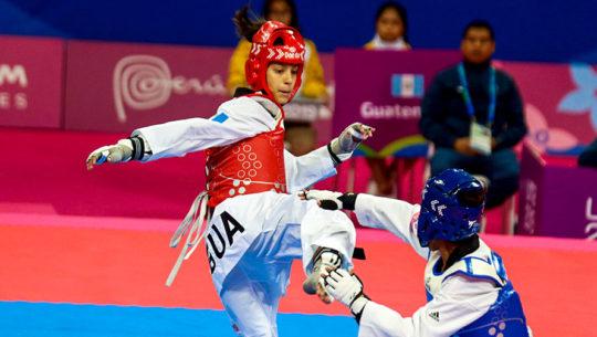 Taekwondistas de Guatemala que buscarán la clasificación a Juegos Olímpicos de Tokio 2020
