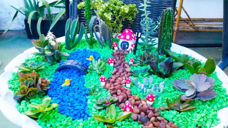 Taller para crear un minijardín de suculentas y cactus | Enero 2020