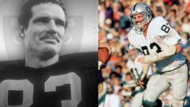 Ted Hendricks fue seleccionado como miembro del equipo histórico NFL 100 All-Time Team