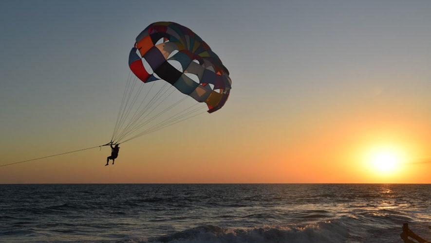 Viaje para hacer parasailing en Monterrico   Febrero 2020
