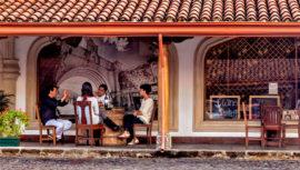 Románticos lugares para tomar vino en Guatemala