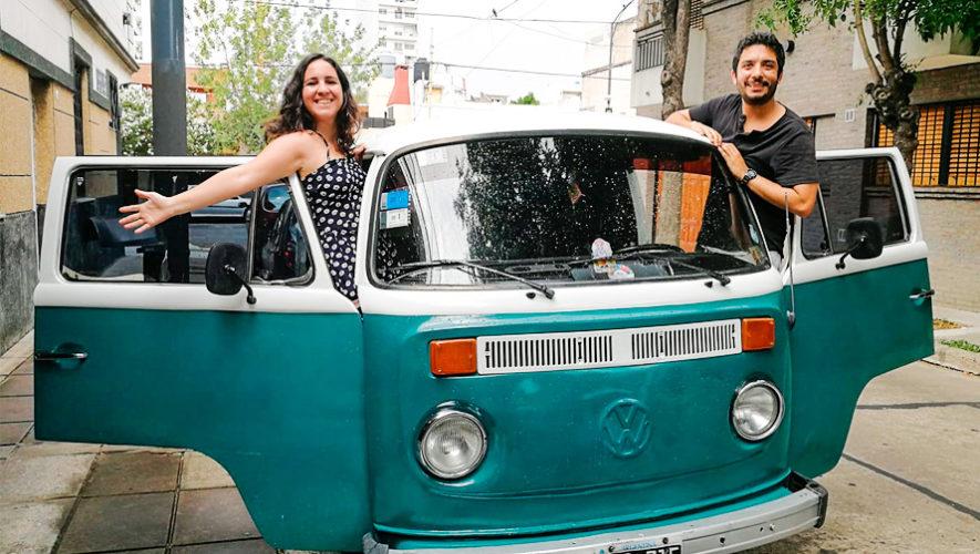 Acoge a un científico: Pareja de científicos visitarán Guatemala en una combi Volkswagen