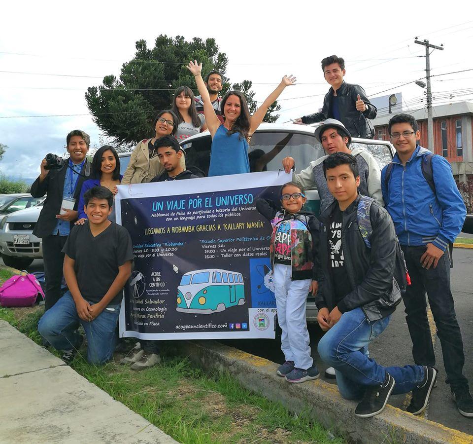 Acoge a un científico en Guatemala